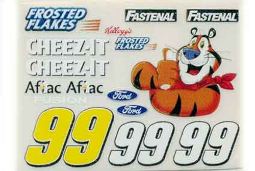 No 99  - 1/24 Frosted Flakes Ford - Go Fast - GF-99FF