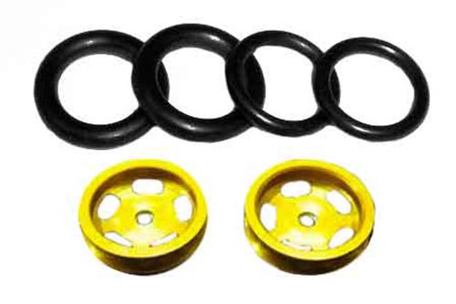Pro-Track 1/16 x 5/8 or 1/2 O-Ring - Gold - PTC-177G