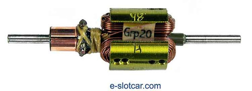 Proslot .510 Dia Group 20 Drag Armature 48° - PS-107-48H