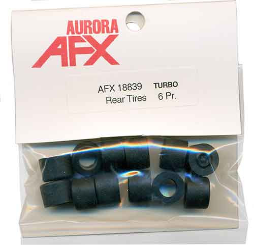 AFX Turbo Rear Tires - 6 Pairs - AFX-18839