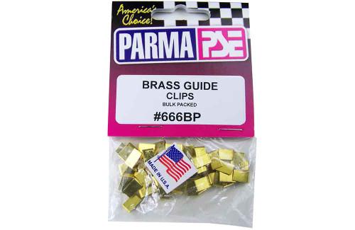 Parma Brass Guide Clips - 25 Pr. Bulk Pk.- PAR-666BP