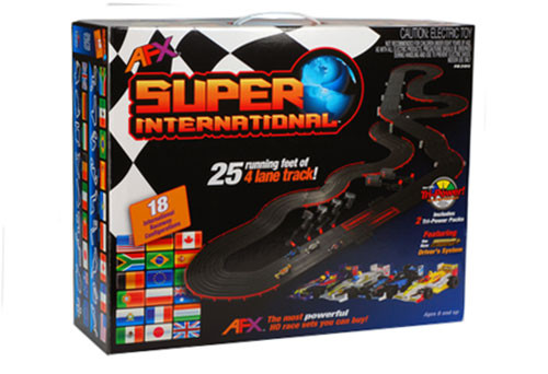 HO Scale AFX Super International Race Set - AFX-12018 (no free shipping on this item)