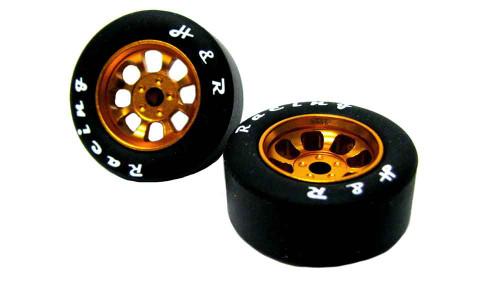H&R Nascar Gold Front Tires - HR-1114