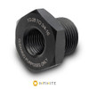 1/2-28 RH to 3/4-16 Thread Adapter - Black (Steel)