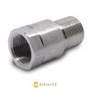 15mm x 1 RH to 5/8-24 RH Thread Adapter - Stainless Steel