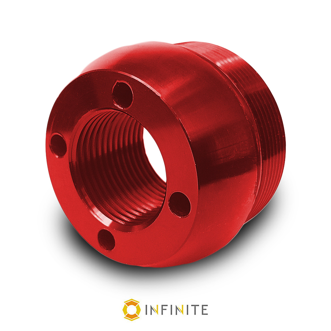 I curved end cap red infinite product solutions