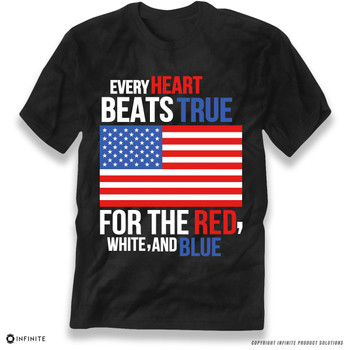 'Every Heart Beats True' Premium Unisex T-Shirt