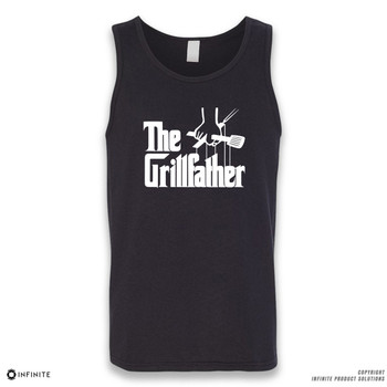 'The Grillfather' Sleeveless Unisex Tank Top