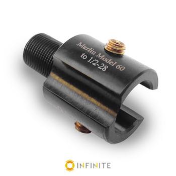 Marlin Model 60 to 1/2-28 RH Thread Adapter - Black (Steel)