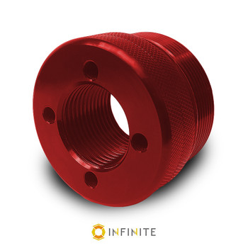 i4003 Flat End Cap - Red