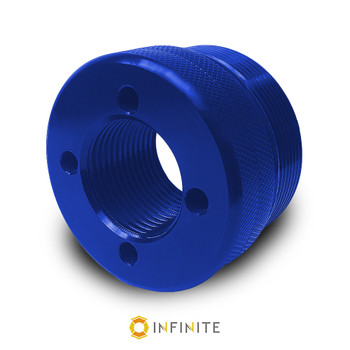 i4003 Flat End Cap - Blue