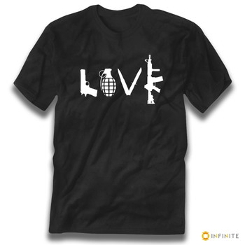 'LOVE' Guns Premium Gun Rights Tee