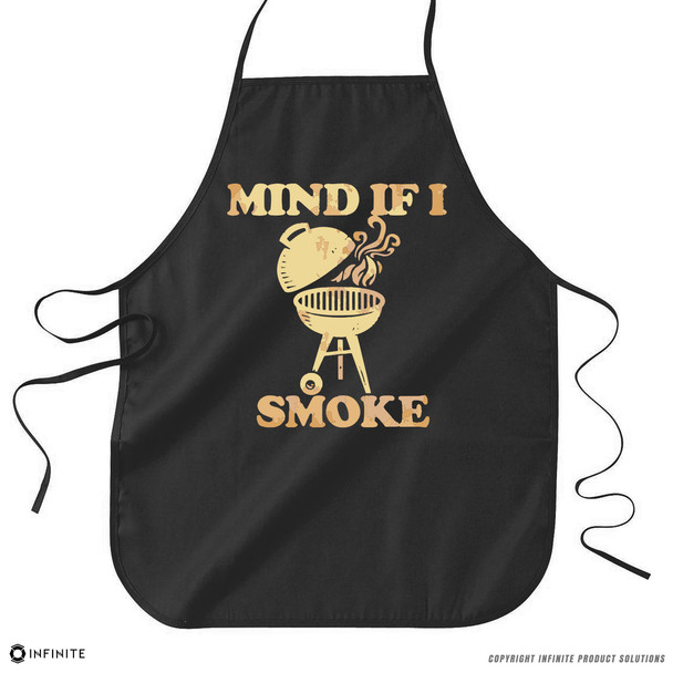 'Mind If I Smoke' Premium Canvas Kitchen Apron