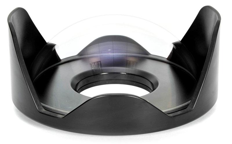 18812 230mm Optical Glass Fisheye Dome Port II
