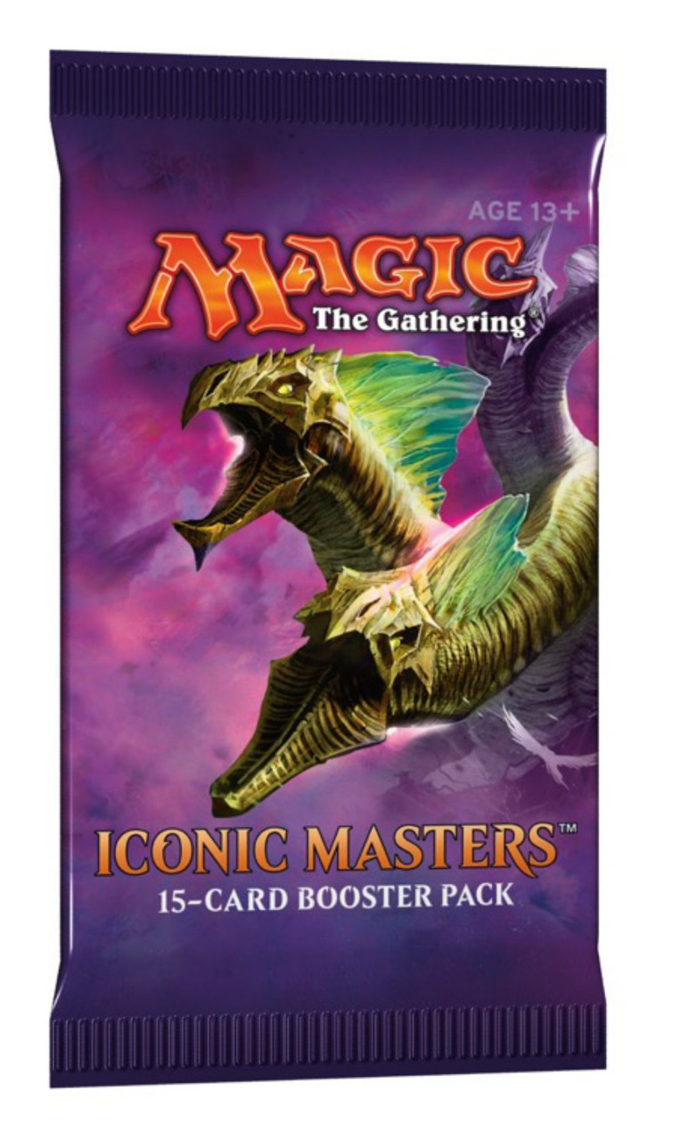 Magic the Gathering: Iconic Masters - Booster Pack