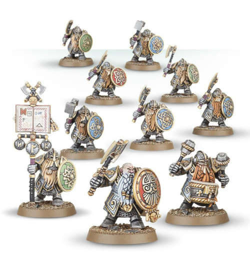 Warhammer Age of Sigmar: Dwarf Ironbreakers