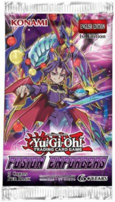 Yu-Gi-Oh! Fusion Enforcers - Booster Pack