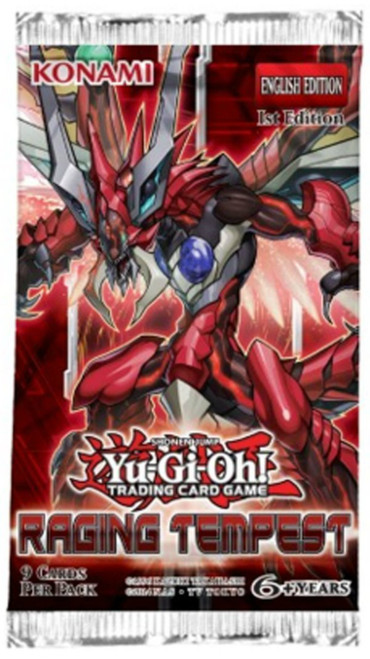 Yu-Gi-Oh! Raging Tempest - Booster Pack