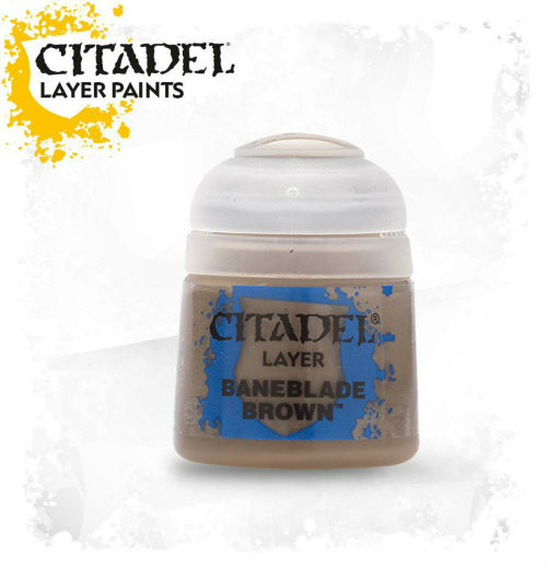 Citadel: Layer Paint - Baneblade Brown (12ml)