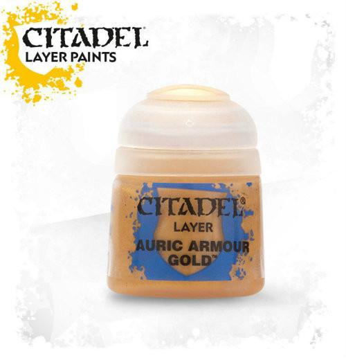 Citadel: Layer Paint - Auric Armour Gold (12ml)