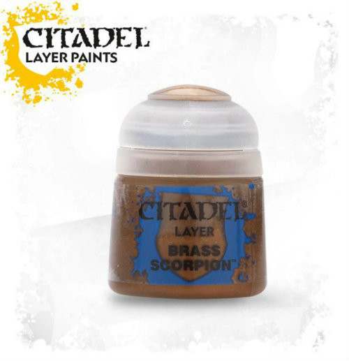 Citadel: Layer Paint - Brass Scorpion (12ml)
