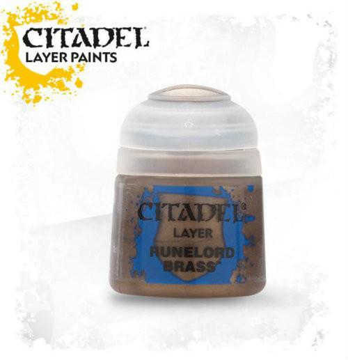 Citadel: Layer Paint - Runelord Brass (12ml)