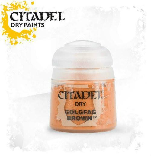 Citadel: Dry Paint - Golgfag Brown (12ml)