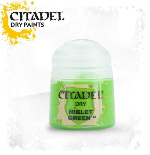 Citadel: Dry Paint - Niblet Green (12ml)