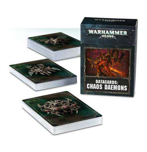 Warhammer 40K: Chaos Daemons- Datacards