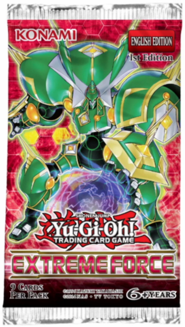 Yu-Gi-Oh! Extreme Force - Booster Pack
