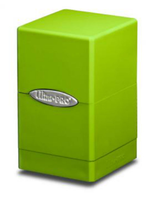 Ultra Pro: Lime Green Satin Tower
