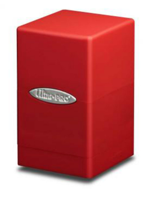 Ultra Pro: Red Satin Tower