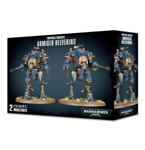 Warhammer 40K: Imperial Knights - Armiger Helverins