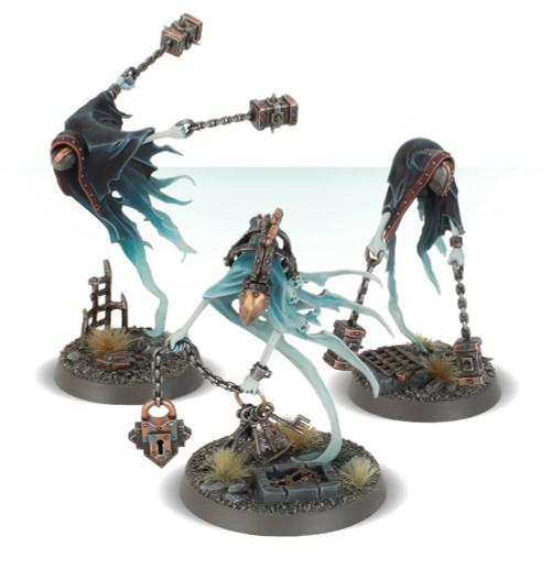 Warhammer Age of Sigmar: Nighthaunt - Crawlocke the Jailor and Chainghasts