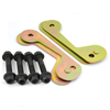 80 Series Caster Correction Plates- 2.5in. (CCP-2)
