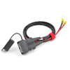 Anderson SB50 with Environmental Boot, Direct to Battery Cable (APC-7)