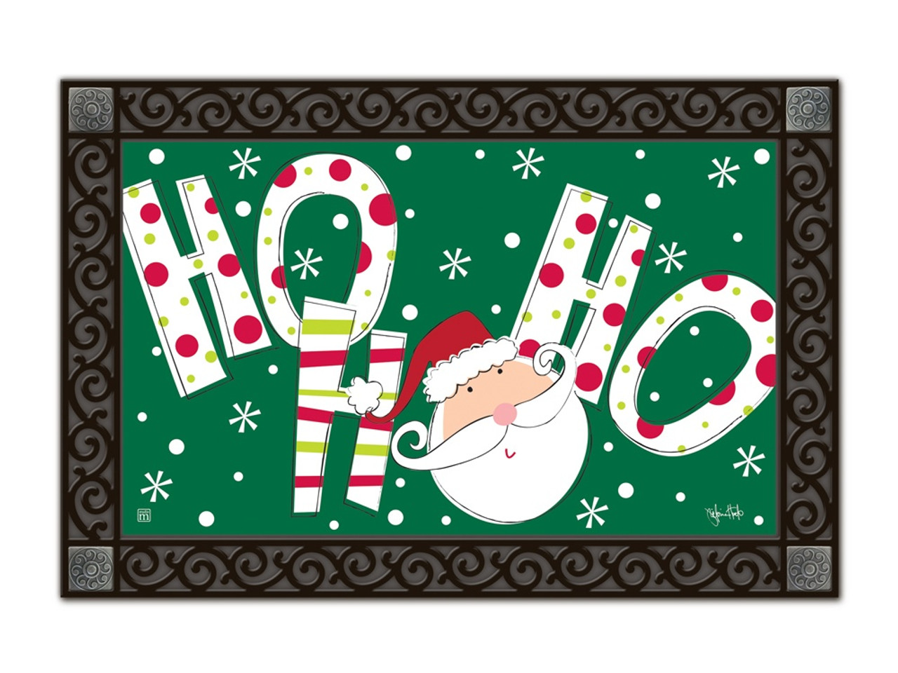 Santa Says MatMates Doormat - Tray Sold Separately  sc 1 st  Flags On A Stick & Santa Says MatMates Door Mat - Welcome Outdoor Mats