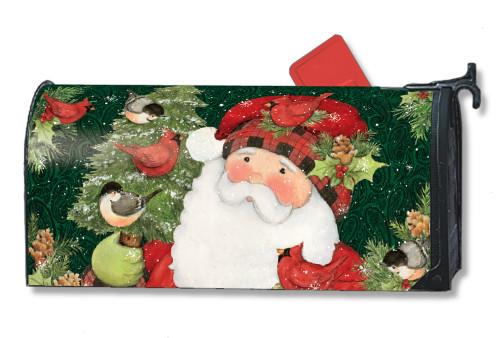 lumberjack santa magnetic mailbox cover