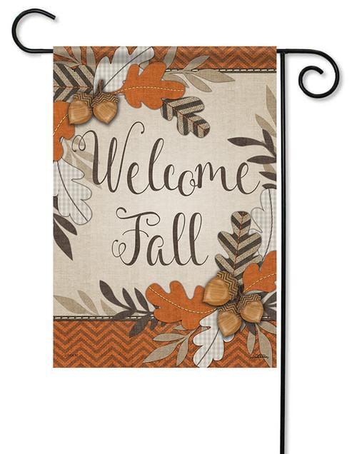 fall garden flags. Crafty Fall Welcome Garden Flag - 13\ Flags A