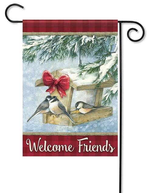 christmas garden flags. Christmas Feast Garden Flag - 13\ Flags