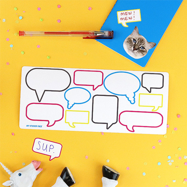 Speech Bubble Stickers