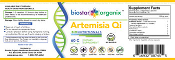 BioNutritionals, Artemisia Qi (60 Caps)