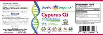 BioNutritionals, Cyperus Qi (60 Caps)