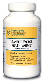 Researched Nutritionals, Transfer Factor Multi-Immune (mushroom-free)