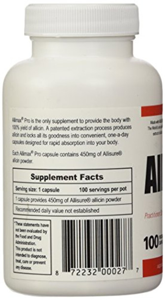 Allimax Pro (450 mg) 100 Count