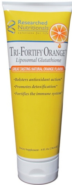 Researched Nutritionals, Lypo Tri-Fortify Orange (GSH)