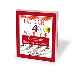 D'Adamo Nutrition, The Blood Type Diet Encyclopedia (Softcover)