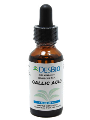 Deseret Biological, Gallic Acid (1oz)