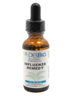 Deseret Biological, Influenza Remedy (1oz)