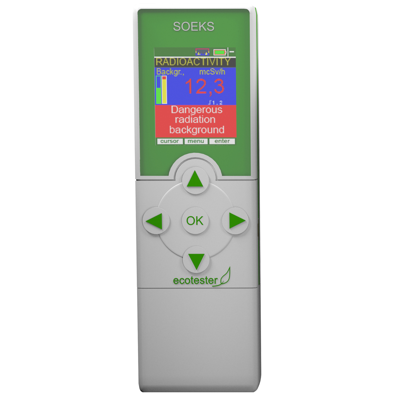 2-in-1 Radiation Detector and Nitrate Tester for Food ECOTESTER